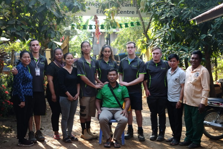 development together volunteers engineering cambodia